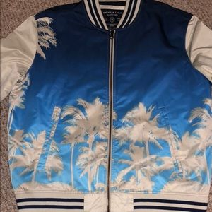 American Eagle Palm Tree Bomber